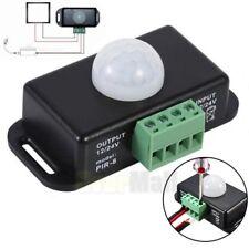 Automatic DC 12V-24V 8A Infrared PIR Motion Sensor Switch For LED Light Best USA