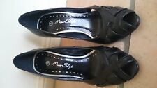Miss Shop Size 5 Black heels Simone heels