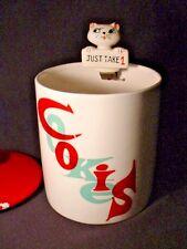 Rare Vintage 1960 Holt Howard Cozy Kitten Pop Up Cookie Jar Just Take 1 HTF