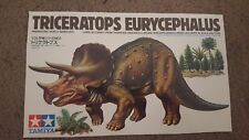 Instructions and Box Art for a Tamiya Triceratops Eurycephalus #2
