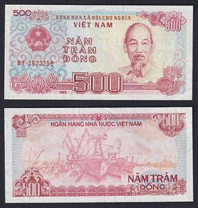 VietNam 500 dong 1988 FDS-/UNC-  A-04