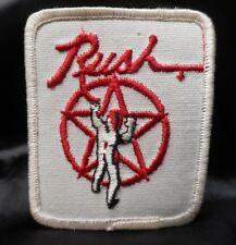 Vintage Original 1980's Embroidered Rush the band Patch
