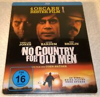 No Country For Old Men (2010, Germany, Region Free) Steelbook NEW
