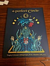 A Perfect Circle Poster - numbered artist print Tingley Coliseum 10/25/17