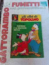 Albi Di Topolino N.966 con Bollini - Mondadori Buono