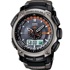 Casio Pro-trek Atomic Solar Altimeter Barometer Thermometer Compass
