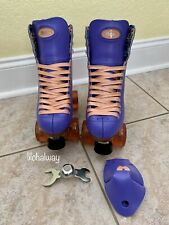 New listing Moxi Beach Bunny Periwinkle Sunset Roller Skates Size 5 (w6-6.5) READY TO SHIP!
