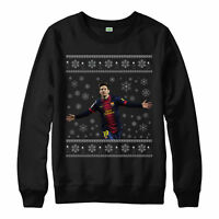 Lionel Messi Merry Christmas Jumper Football  Xmas Unisex Adult & Kid Jumper Top