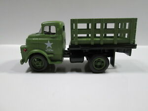 '57 DODGE C.O.E.  STAKE BED   U.S. ARMY   LOOSE S SCALE
