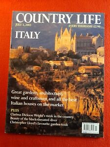 COUNTRY LIFE Magazine : 3rd July 2003