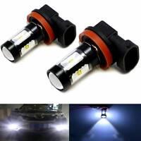 2x H8 H11 30W High Power LED Fog Driving Light Canbus Lamp Bulb 6000K White