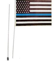Suzuki Kawasaki  Polaris KTM  2 Part 7' ATV American Police Whip Heavy Duty Flag