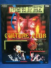 SEALED Culture Club A Kiss Across The Ocean Japan VHD Video Disc Boy George NOS