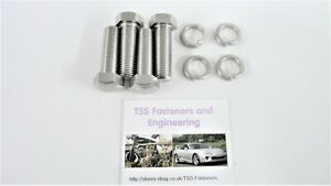 Kawasaki Z650/Z900/Z1000 - Disc Mounting Bolts Set (Domed Heads) Stainless Steel