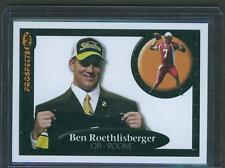 2004 BEN ROETHLISBERGER ROOKIE RC PROSPECTS INK WHITE BACKGROUND SP