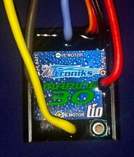 NEW LOW PRICE - RC Boat Mtroniks  tioMarine 30 ESC Brushed Speed Control
