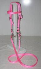 Pony Nylon Bridle - Pink