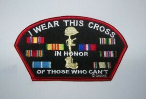 Vietnam Veteran / All Veteran Battlefield Cross patch