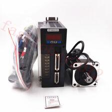 2.39NM AC Servo Motor 750W Servo Driver Kit 0.75KW +3M Cable 80STM02430 CNC Mill