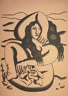 Fernand Léger, Femme, Hand Signed Lithograph