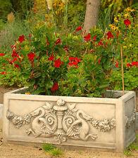 Blumenkasten Pflanzschale Pflanztrog Blumenkübel Steinkübel Steinkunst BLACKFORM