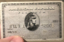 American Express AMEX Platinum credit card member since 2000