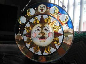 """AMIA Sun/Moon Window Suncatcher Sun Catcher 6.5"""""""