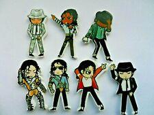 Set of Seven MICHAEL JACKSON Figure Fridge Magnets