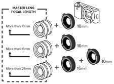 Kenko 10 16mm DG Extension Tube Set for Canon RF Mount
