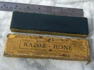 "vintage 6"" Pure fine corundum  razor  sharpening hone stone"
