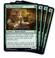 4x Edgewall Innkeeper - Throne of Eldraine - NM - Playset - English - MTG