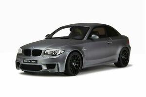 1/18 GT Spirit BMW E82 Coupe 1M grey GT709 cochesaescala