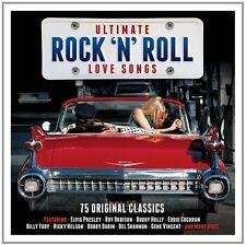 Ultimate Rock 'N' Roll Love Songs - 75 Original Classics (3CD 2016) NEW/SEALED