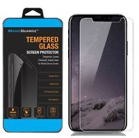 For iPhone X XS Max XR Premium HD Tempered Glass Screen Protector