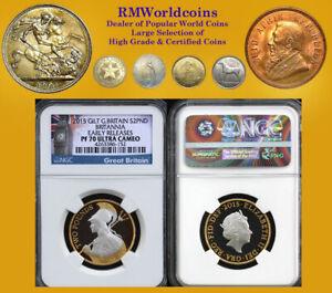Gt. Britain 2015 2 Pounds, Rare Gem Proof, NGC DCAM 70,  Mintage 3000 pcs.