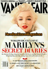 Vanity Fair 11/10,Marilyn Monroe,November 2010,NEW