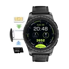 Wristband Heart Rate Smart Watch SIM Waterproof Phone For Android IOS Samsung