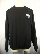 Mens Gear For Sports Black Pullover Rain Jacket Casey Mears Racing Logo sz XL