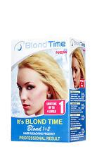 BLOND TIME LIGHTENING KIT 1 LIGHTENS UP TO 4 LEVEL HAIR  BLEACHING KIT