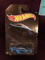 Hot Wheels 2019 Walmart Exclusive Exotics 4 Of 6 Blue McLaren P1 Brand New