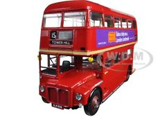 1964 ROUTEMASTER DOUBLE DECKER LONDON BUS RM2089-ALM89B 1:24 BY SUNSTAR 2918