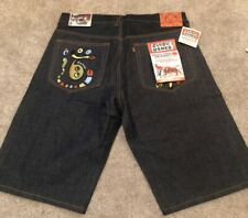 Evisu Genes Shorts Private Stock For Maniacs Unchangeable, Nwt, Size 38