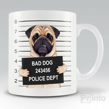 Novelty coffee mug cup - PUG gift for dog owner