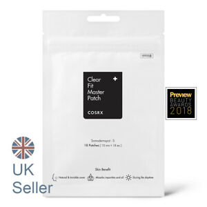 COSRX Clear Fit Master Patch [18 patches] Acne Pimple, Daytime use, UK Seller