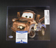 Cars Larry The Cable Guy Autograph 8x10 Photo Beckett BGS Pop Century