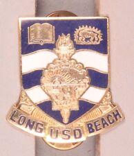 Army DI Pin:  David Star Jordan High School ROTC - cb, nhm