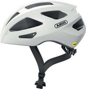 Abus Macator MIPS Helmet - White Silver, Medium