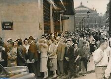 PARIS 1957 - Auto Population Banque des Pays-Bas  Rue d'Antin L'Opéra - PR 802