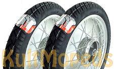 Set Kompletträder auf Alufelge 16 Zoll pass f Simson S51 S50 S70 S53 S83 KR51 Sc
