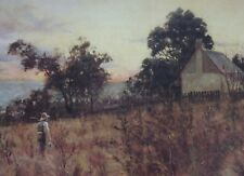 Frederick McCubbin, Winter Evening, Hawthorn, Large Australian Art, Castlemaine